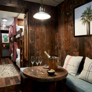 The Bunk Room for groups of 4, Artist Residence Brighton, boutique hotel in Brighton, Brighton seafront