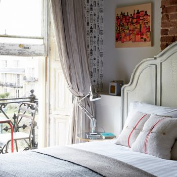 Fox Fisher room at Artist Residence Brighton, boutique hotel in Brighton, Brighton seafront