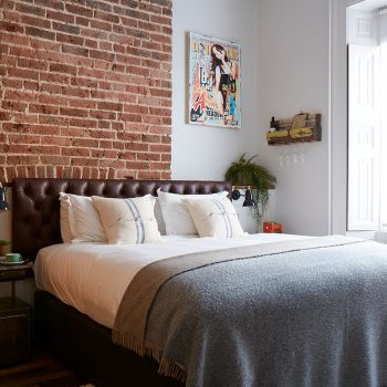 Charlie Anderson room, Artist Residence Brighton, boutique hotel in Brighton, Brighton seafront